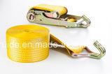 Mejor alineación / Trinquete de alineación / sujeción de carga / Carga amarre / trinquete amarre Amarre con plano y gancho