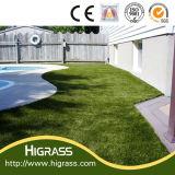 Resistente a los rayos UV de 20 mm de hierba artificial corta para el paisajismo