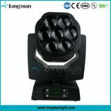 7*15W 4in1 RGBW Ministadiums-Wäsche-bewegliches Hauptpunkt-Licht des bienen-Augen-LED