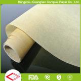 Papel impermeable a la grasa seguro Rolls de la hornada del silicón del horno a prueba de calor del FDA y hojas