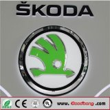 Подгонянный Signage знамени рекламируя знаки логоса автомобиля 3D для Skoda