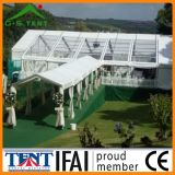 Baldacchino trasparente della tenda foranea di festival che fa pubblicità alla tenda Gsl-10
