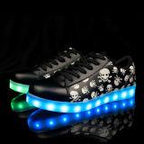 2016 Nieuwe Kleur 7 die van de Herfst Unisex- Lichte LEIDENE van Schoenen Lichte LEIDENE Schoenen voor Mannen en Vrouwen ruilen