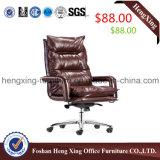 $78快適なメタル・ベース高い背皮のオフィスの管理の椅子(HX-BC023)