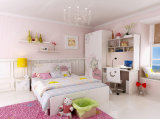 dB701メラミン寝室の家具はベッドをからかう