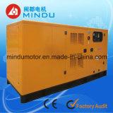 Длинний генератор гарантированности 200kw Weichai молчком тепловозный
