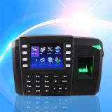 3G a basé le contrôle d'accès d'empreinte digitale et le système de service de temps (TFT600/3G)