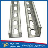 Zoll galvanisierter Stahlc-Kanal für Blech-Herstellung