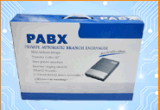 Pabx central do sistema de telefone CS+416