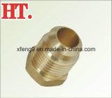 Montaggio d'ottone americano della spina maschio del chiarore