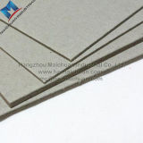 Conglomerado gris laminado gris doble del papel de tarjeta
