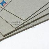 Panneau double pli en carton en carton gris stratifié