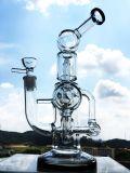 De nieuwste Kooi Perc van de Vogel van de Pijp van het Glas van de Percolator van Duel 13 '' met de Pijp van het Glas van Perc van de Koepel