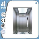 Elevatore del passeggero di LMR con l'acciaio inossidabile della linea sottile