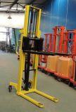 1500kg Manual Stacker Hand Pallet Lifter Fork Lifter