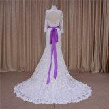 Schatz 3/4 Hochzeits-Kleider Sleeverobe De Mariage