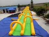 Diapositiva de agua inflable gigante superventas del nuevo diseño 2016 para la venta