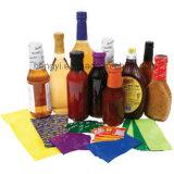 Étiquette de chemise de rétrécissement pour le cachetage en verre ou en plastique de capsule