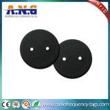 Modifica lavabile materiale della lavanderia di PPS RFID con due fori