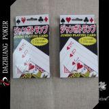 Карточки японии Jumbo играя с коробкой вытачки бирки Hang