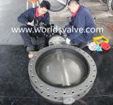 Тип клапан-бабочка нержавеющей стали u с ISO Wras Ce одобрил