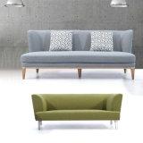 現代ホームデザイン家具木ファブリックソファーの椅子
