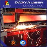 Acero inoxidable del corte de máquina del laser de la fibra del CNC de la cortadora del laser de la fibra del carbón, acero suave
