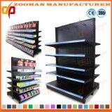 Metallsupermarkt-Speicher-Bildschirmanzeige-Fach-Einzelverkaufs-Speicher beansprucht Regale stark (Zhs446)