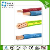 H05VV--Fio flexível do cabo de fiação da casa da isolação do PVC do condutor do Cu de F