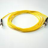 шнур заплаты оптического волокна Sm куртки PVC St-St 3m