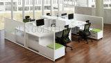 Перегородка офиса кабины нормального размера деревянной конструкции модульная (SZ-WST726)