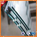 Glace durcie claire élevée personnalisée de douche de Quaity 6mm pour la porte pour le guichet