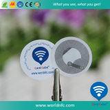 стикер печатание NFC 13.56MHz Ntag213 изготовленный на заказ