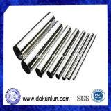 Redondo de acero inoxidable de tubos con costura, fábrica de Shenzhen