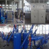 De automatische Hoge Vlokken die van de Fles van het Huisdier van het Ontwerp Plastic de Lijn van het Recycling wassen