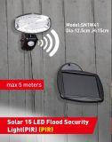 Indicatore luminoso solare PIR di obbligazione del pavimento