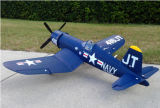 세계의 작동되는 가늠자 기계적인 접는 날개 12CH 2.4G 무선 제어 비행기를 가진 첫번째 F4u 해적