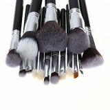 Fashion Brand 15 pièces Outils de maquillage professionnels Beauty School Bakeup Brush