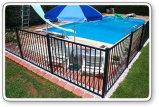 Frontière de sécurité soudée de jardin de palissade enduite par PVC de treillis métallique