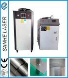 Soldadora automática de laser de la fibra caliente de la venta para los dispositivos de comunicaciones