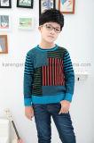 Karen Kids Long Sleeve Contrast kleurde Gebreide Sweater