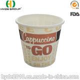 Taza de papel caliente disponible de la promoción, taza de café de papel