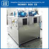 Particelle e macchina di fabbricazione di ghiaccio asciutto Blocky