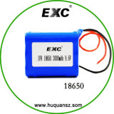 Batterie Li-ion rechargeable 3.6V 18650 12000mAh de côté d'alimentation par batterie