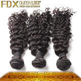 Peruvian Hair Weave 100%年のHumanの深いWave Sew Hair
