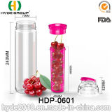 Бутылка воды Infuser плодоовощ brandnew способа 2015 пластичная, BPA освобождает бутылку воды Tritan (HDP-0601)