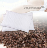 Natur Buckwheat Healthcare Pillow mit White&Coffee Color