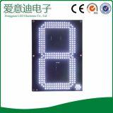 Painel eletrônico do preço do diodo emissor de luz da cor vermelha
