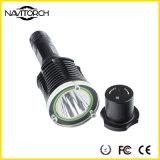 LEDの懐中電燈を回すアルミ合金のXm-L T6 430の内腔10Wの底