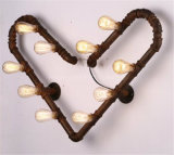 Phine 수관 장식적인 특유한 벽 램프 실내 점화